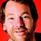 Close up headshot of Australian comedian Lehmo.