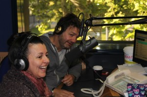 Loz back behind the breakfast Mic with Luisa and Kev on 105.7 The River