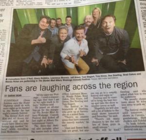 Publicity Shy Comedians